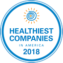 nascentia health award for healthiest companies in america 2018